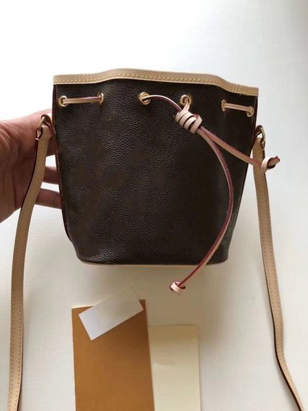 Mini Bucket Bag M41346 Classics Shoulder Bags Cross Body Totes handbags brand fashion TOP luxury designer bags famous women Cowhide 2AA