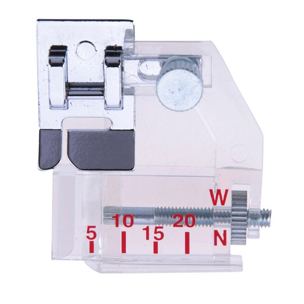 foot bias Adjustable Bias Binder Presser Foot Feet Binding Feet Sewing Machine Attachment Accessory For Low Shank Singer Janome Brother