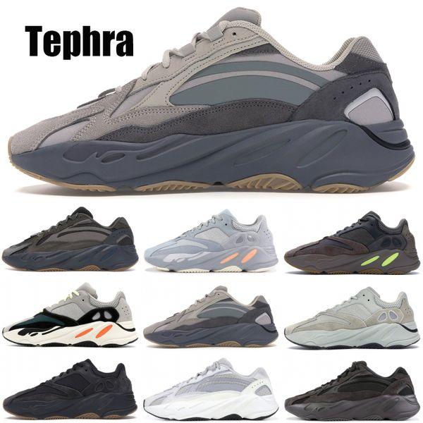 Inertia 700 Kanye West Wave Runner Utility Черные Мужчины Женщины Дизайнерские Кроссовки Новые V2 Tephr