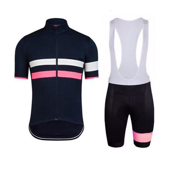 RAPHA team Cycling Short Sleeves jersey bib shorts sets 2019 hot Mtb Clothing Road Bicycle Sportswear U40848