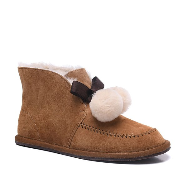 Hot sell winter Classic short Mini snow boot Brand Women popular Australia Genuine Leather Boots Fashion Women's Snow Boots 08