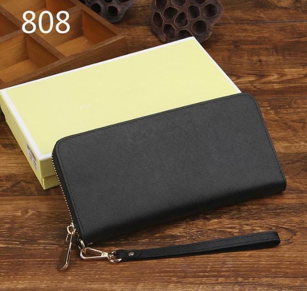 Brand Design Echtleder Damen Handtasche lange Brieftasche M weibliche Geldbörse berühmte Frauen Handtasche Kreditkarte Visitenkartenhalter Brieftaschen