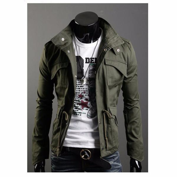EUR Größe Brand New British Style Jacke Herrenmode Sweatshirt Coole Jacken Plus Size Lässige Vintage Coat Collection Kostüme