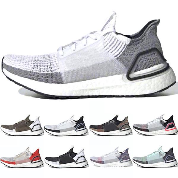 Adidas 2019 Ultra Boost 5.0 Homens Mulheres Tênis De Corrida 19 Ultraboost Laser Vermelho Oreo Núcleo Preto Pixel Escuro Refract Melhor Novo Esporte Sapatilha