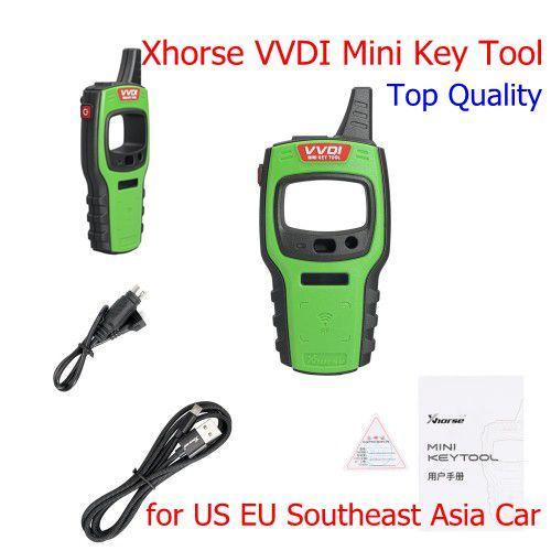 NUEVO Xhorse VVDI Mini Key Tool Programador de llave remota Compatible con IOS y Android para EE. UU. Coche del sudeste asiático de la UE