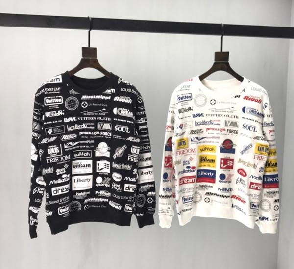 2020 nuovo delle donne degli uomini Sweatershirts lettera stampata casuale pullover superiore tuta sportiva della molla autunno Maglioni intero Colth Stampa FC B104522V