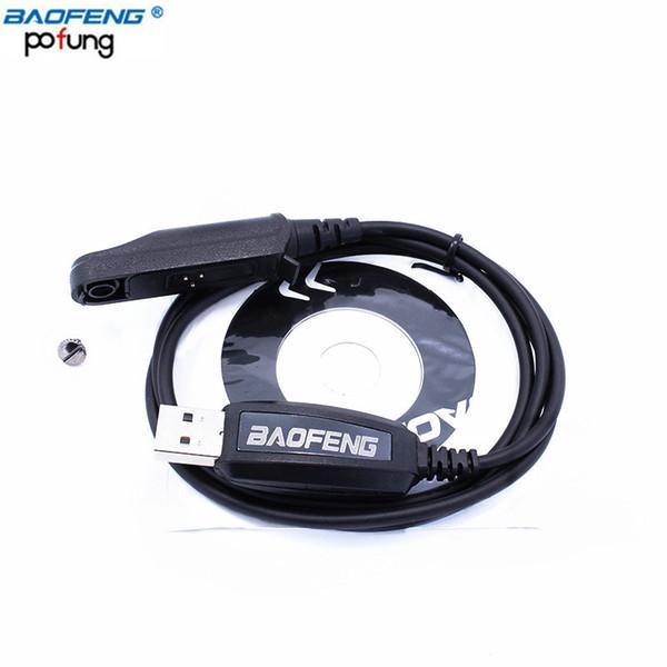 Original Baofeng USB Programming Cable + CD for Waterproof Walkie Talkie UV-XR A-58 UV-9R GT-3WP UV-5S