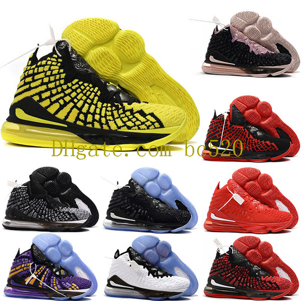 2019 New Arrvial Mens FMVP james 17s Equality Basketball Shoes Championship Lakers King lebrons 17 XVII Luxury Sneakers Trainers Size 40-46