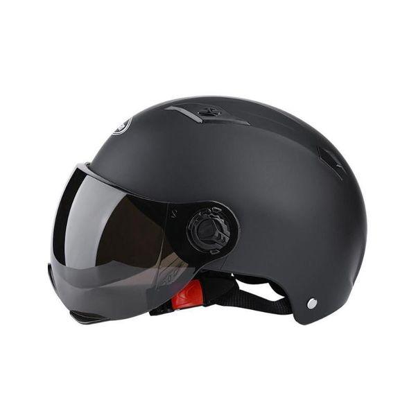 Ultra-light Cycling Helmet PU Baseball Cap Style Bike Motorcycle Visor Gold