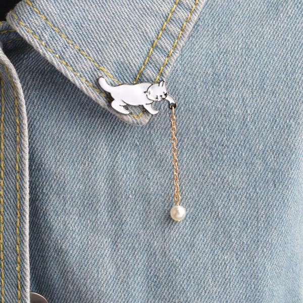 Designer monili di fascino designer coreano Eternity Pins monili del partito retro vestiti epoca e accessori Spilla per unisex