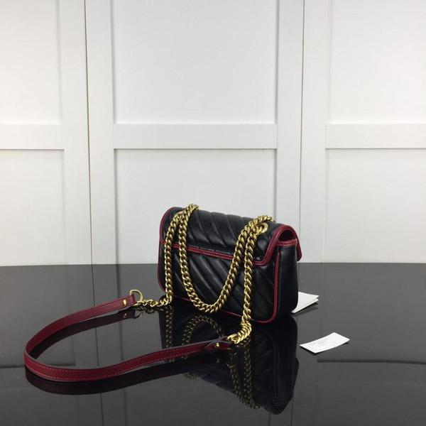 12072102 Fantastic 2019 Genuine Leather Lux Fashion Handbags Women Bag Runway For Female Ladies Europe Brand