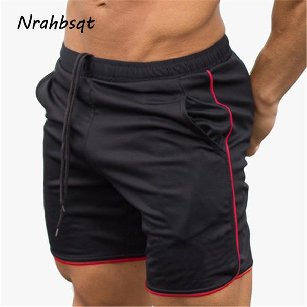 NRAHBSQT Neue Sport Shorts Männer Gym Fitness Shorts Bodybuilding Jogging Workout Männliche Kurze Hosen Laufen Im Freien DK004