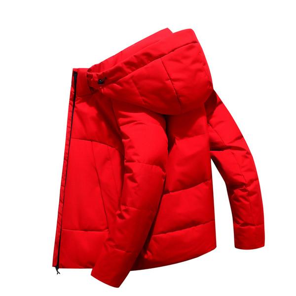 Зимние дизайнерские теплые мужские пуховики уличные пальто мужские белая утка пуховик с капюшоном пиджаки парки 3 фирменных стилей N918