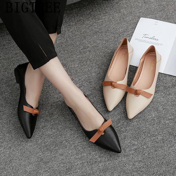 Apartamentos mulheres 2019 harajuku sapatos trepadeiras deslizar sobre sapatos de couro mulheres mocassins conforto para zapatillas mujer ayakkabi