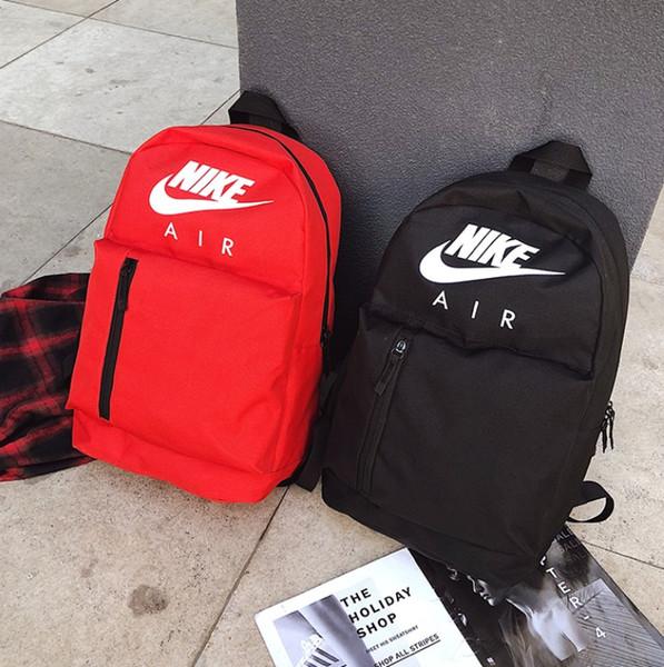 Fashion student double shoulder package designer brand backpack men and women outdoor bag variety back method