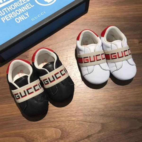 Bébé enfants chaussures enfants chaussures mode loisirs belle lettre style bébé broderie Top qualité