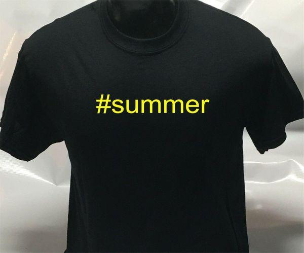 # Лето Смешно Мужская Мужская Женская футболка Футболка Футболка Мужчины Женщины Мужская Мода футболка Бесплатная Доставка черный