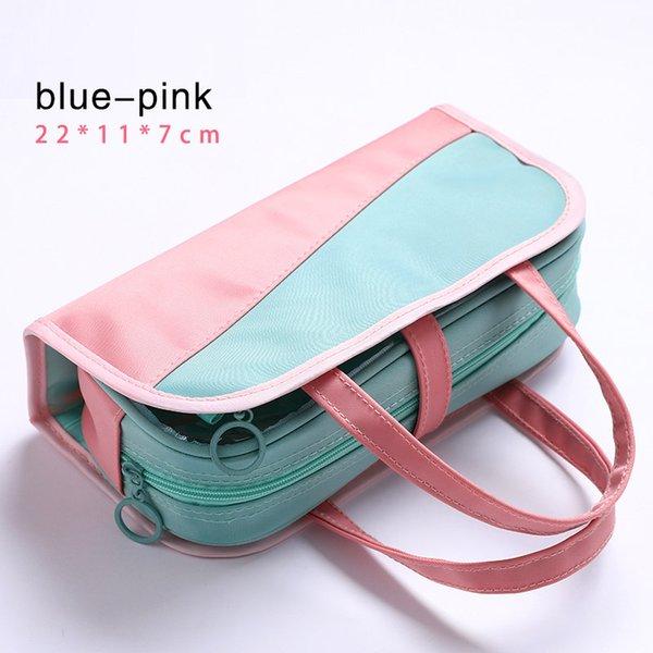 сине-розовый