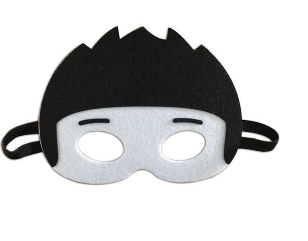 Masquerade mask kids face train style Halloween Christmas party decoration Children's day cartoon character costume train eye style
