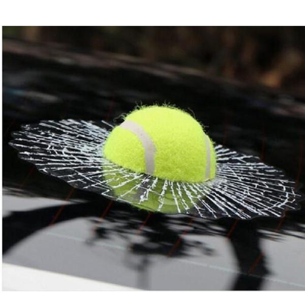 3D adesivos de carro engraçado Auto Car Styling bola bate corpo etiqueta da janela Self Adhesive Baseball Tennis Decalque Acessórios