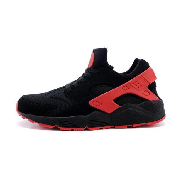 Sneakers Big Kids Garçons et filles Coloré Noir Blanc Huarache Bleu Chaussures de course Baskets Triple Huaraches Chaussures de sport athlétiques; l /; l / l / l