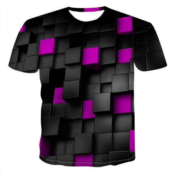 Мужская футболка модные топы дышащий экипаж шеи череп печатает с коротким рукавом мягкая Мужская одежда популярные повседневная футболка 17 стилей размер S-6XL Оптовая