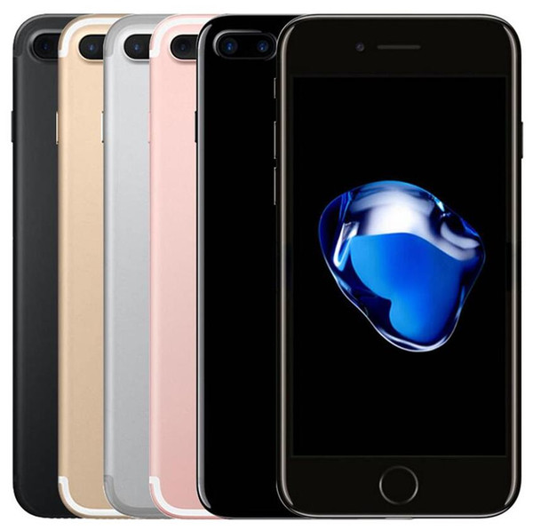 Refurbished Original Apple iphone 7 7 Plus without touch id Unlocked Phone 32GB 128GB IOS12 12.0MP Home Button Working