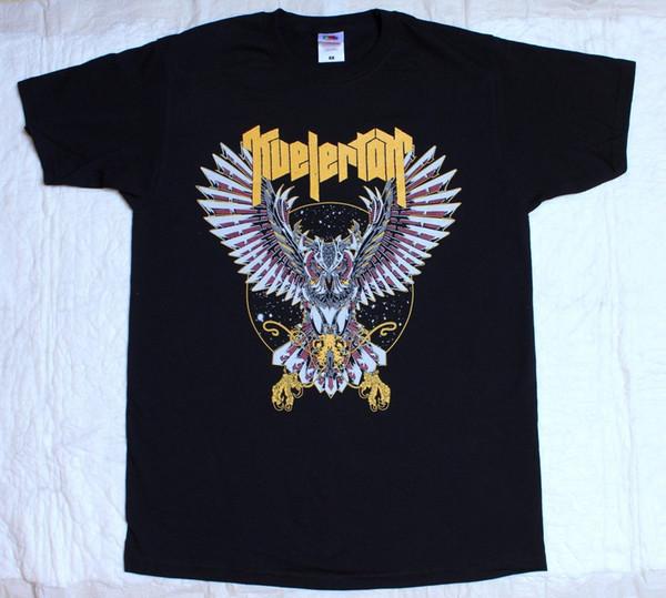 KVELERTAK ROBOT OWL T-SHIRT NOUVEAU T-SHIRT NOIR NOIR