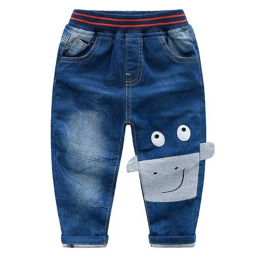 DHgate New Winter Of Children Pants Boys Abstract Cartoon Knitted Double-decker Cotton Pants Wholesale From China