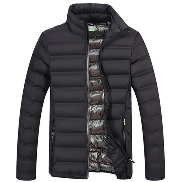 Sonbahar Kış Hafif Ceketler Erkekler Pamuk Yastıklı Parka Erkek Mont Dış Giyim Rüzgarlıklar Erkekler Marka Giyim Jaqueta Masculino