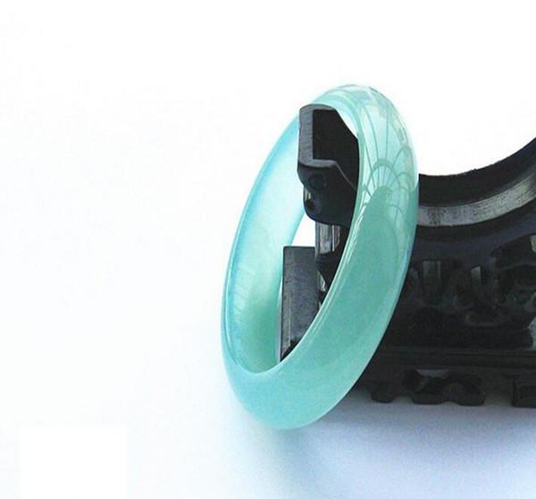 Atacado autêntico natural quartzito jade gelo óleo verde jade pulseira