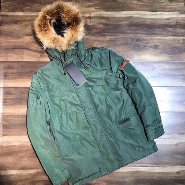 18FW VETEMENTS mujeres de los hombres del ganso abajo cubre Hombres Expedición Parka Suecia Noruega por la chaqueta de moda Outwear HFLSYRF057