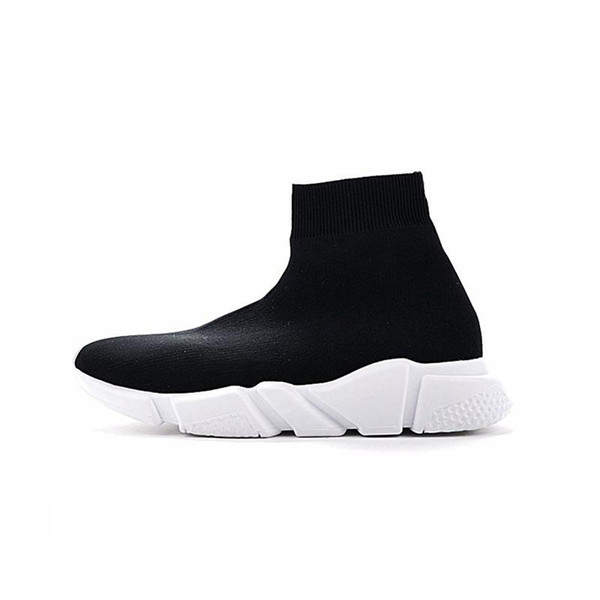 2020 newst haute qualité vitesse formateur chaussures pour hommes et occasionnels stretch tricot chaussures pour femmes Vitesse taille Mid Sneakers Eur 36-45