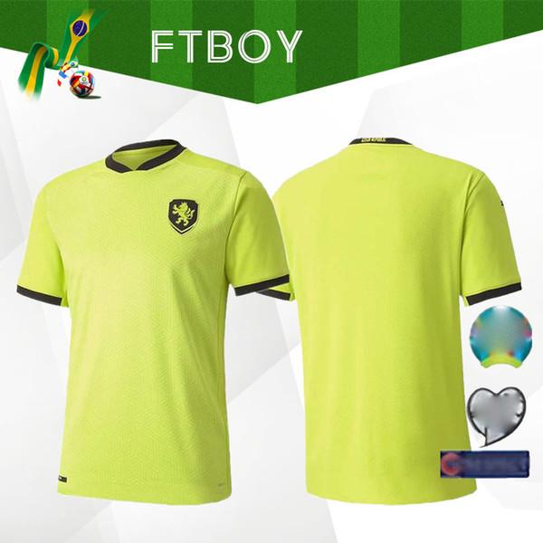 nueva taza del euro República Checa 2021 CHECA camiseta de fútbol 20 21 Patrik Schick Pavel Kaderabek Camisetas del equipo nacional de fútbol de distancia camisas verdes