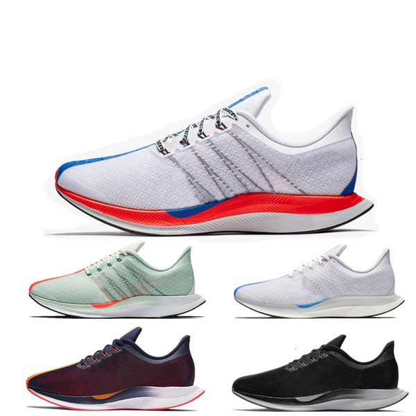 2019 35 45 Zoom Turbo Barely Grey Hot Punch Black White Running For Men Women React Zoomx Pegasus Eur - Outdoor Shoes
