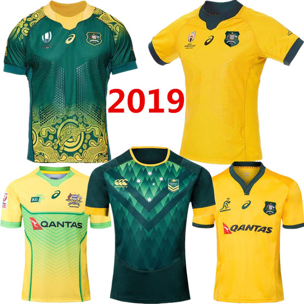 Coupe du monde 2019 AUSTRALIA WALLABIES JERSEY 18/19 Sydney Roosters rugby maillot Maillot Rugby League Maillot australien tempête tempête S 3XL