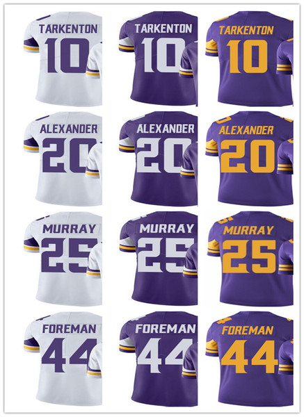 lowest price 557a9 0dbc6 2019 2019 Custom Minnesota Women Viking Youth Jersey #25 Latavius Murray 20  Mackensie Alexander 10 Fran Tarkenton 44 Chuck Foreman Jerseys From Ccr06,  ...