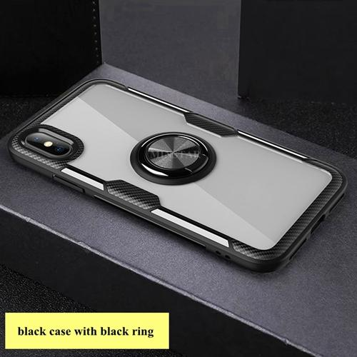 #4 black case with black ring