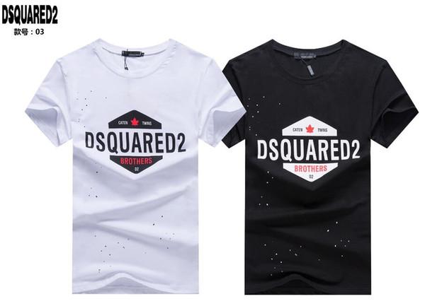 Nouveau 2018 Luxurys Brands D2 Canada Designers Hommes Sweats à Capuche DSQ003 T-Shirt Italie Mode Casual Automne Hiver Manches Longues Hip-Hop Sweat DS2