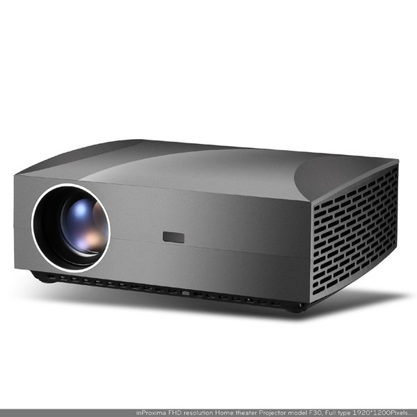 F30 LCD LED Projector Portable 1080P Projectors Beamer HDMI USB Theater Media Player 4200 Lumens Proyector with 20W Stereo Speaker