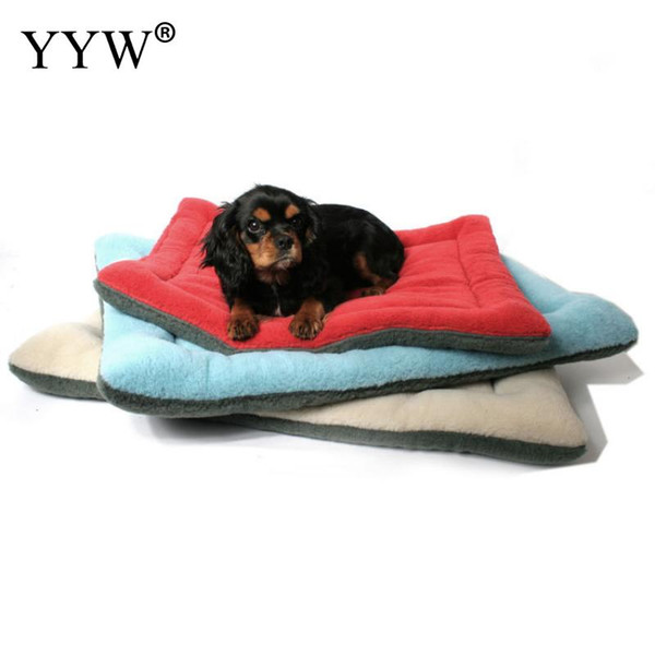 Pet Dog Cat Nest Bed Blanket Mat Cloth Cotton Soft Pets Carpet Mats Blankets Dog Accessories Pet Products For Cats Gift