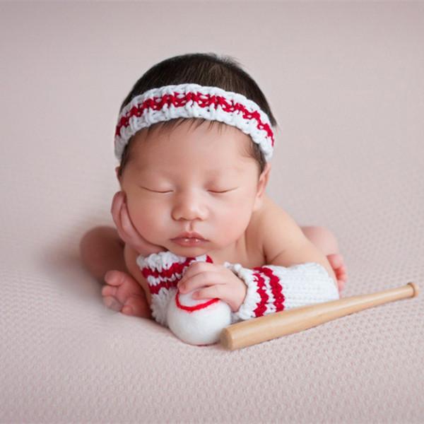 hobees Cute reci/én nacido ni/ño ni/ña beb/é disfraz Fotograf/ía Props fresas gorro pantalones
