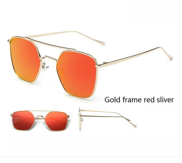 Colore lenti: cornice oro rossa