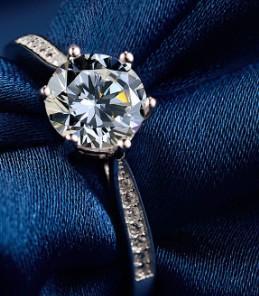 Wedding jewelry Zircon 925 sterling silver proposed diamond ring for girl wedding Christmas festival birthday gift