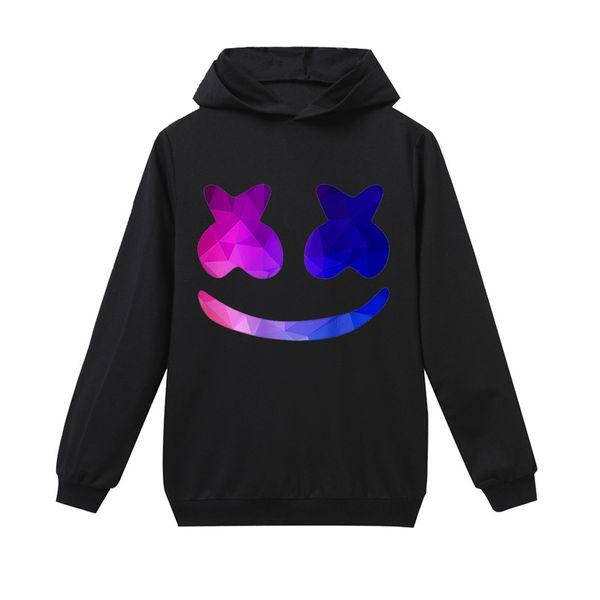 modis dj marshmello Kids hoodie sweatshirts Child Black 2019 New long Sleeve T-shirt for Girls top Boys t shirts clothes