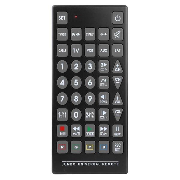 QFX REM-115 8-in-1-Universalfernbedienung für TV-DVD-Recorder für die Fernbedienung VCR REM-115