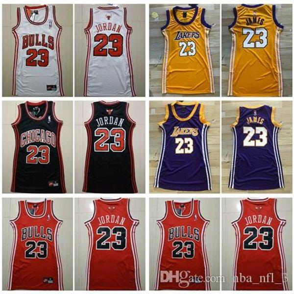 2020 women chicago bulls 23 michael jordan basketball jerseys los ...