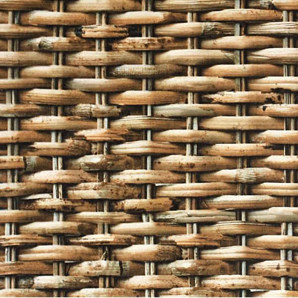 Estilo chino Imitación Clásica Estera de paja Estera de bambú Wallpaper Salón Hotel Hotel PVC Wallpaper Impermeable 3D Decoración para el hogar