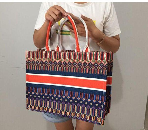 2019 новый классический Красочные цветы сакуры книги Totes мешок конструктора сумки Отпечатано вышитые сумки большой емкости кошелек сумки