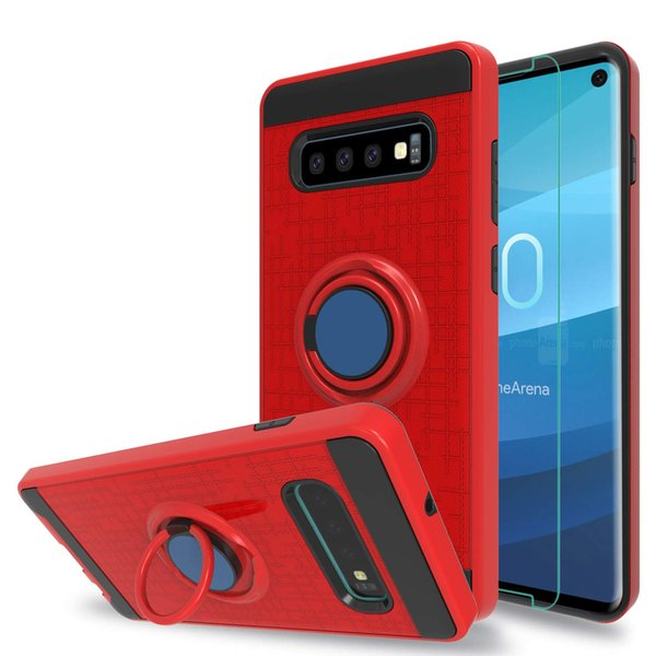 Hybrid Case For Samsung Note 8 9 Moto C G5S G6 G7 Plus Z2 Play Rugged 360 Armor Shockproof Cases With Kickstand Cover